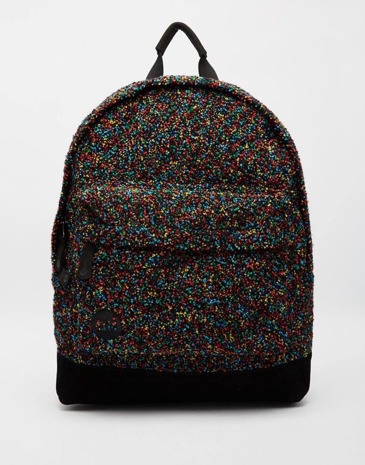 Mi-Pac+Backpack+in+Coloured+Boucle