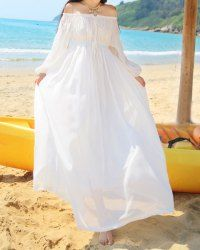 Bohemian Dresses | Cheap White And Long Bohemian Dresses For Women Online At Wholesale Prices | Sammydress.com
