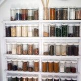 When we showed you Susy's simple and perfectly organized kitchen, several of you immediately went ga-ga over her minimalist spice rack