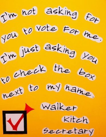 Check the Box - 25 Hilarious Student Council Campaign Poster Ideas   Complex
