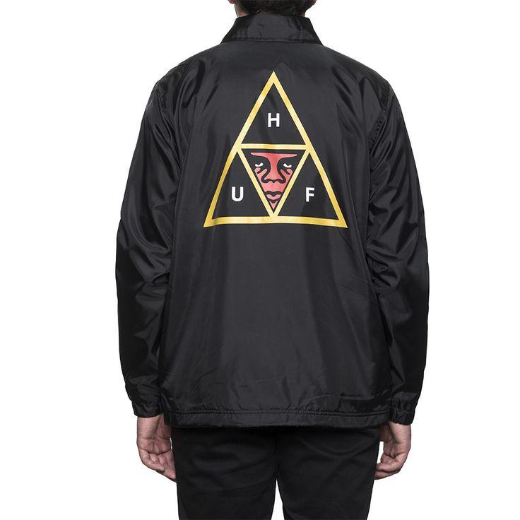 Huf X Obey Coaches Jacket! Dispo à Lockwood skateshop Albi.