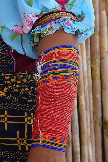 Kuna adornments. Panama