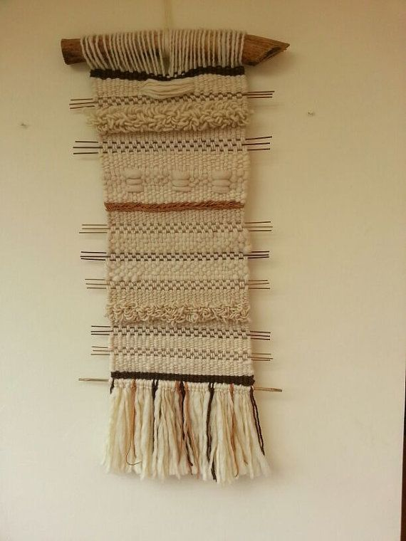 Beautiful Hand made woven wall hanging from the by WovenHomeArt, $300.00