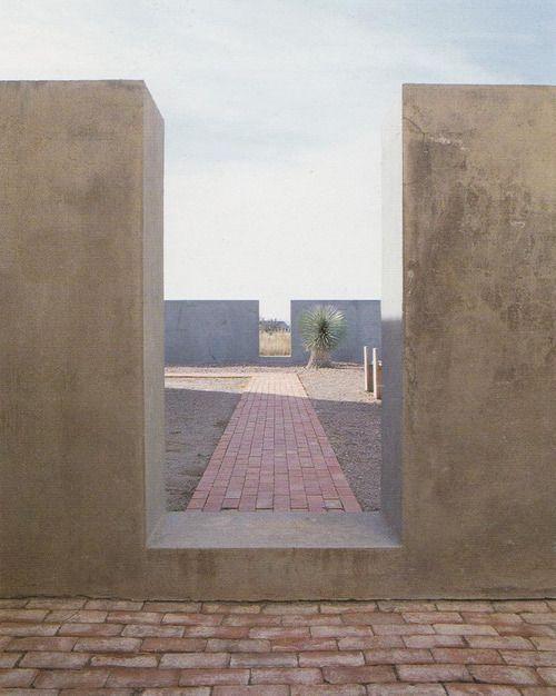 chinati foundation, marfa, texas by donald judd.
