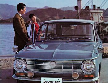 Mazda Familia 800 Van '1963–68
