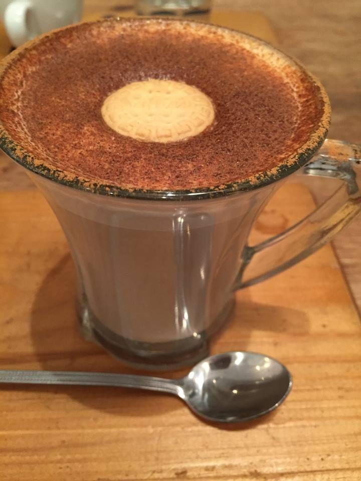 Para combatir el frío un Chai latte, diferente y muy fácil de hacer :) #chailatte #tea #latte