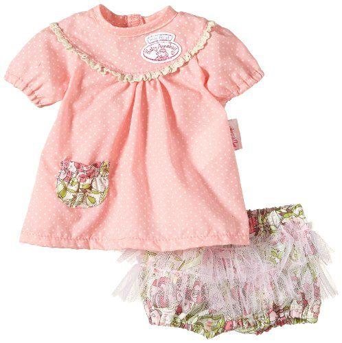 Zapf Creation 793251 - My First Baby Annabell Clothes Girl, rosa Kleidchen mit Rüschen-Hose Zapf Creation http://www.amazon.de/dp/B00HYT692I/ref=cm_sw_r_pi_dp_xcgAub09M23RN