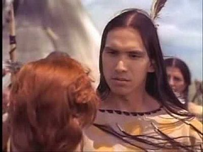 Michael Greyeyes in Stolen Women, Captured Hearts. Love to see a Native with a red head!