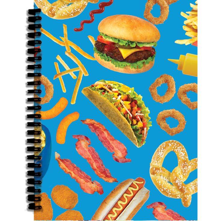 Junk Food 3D Small Journal