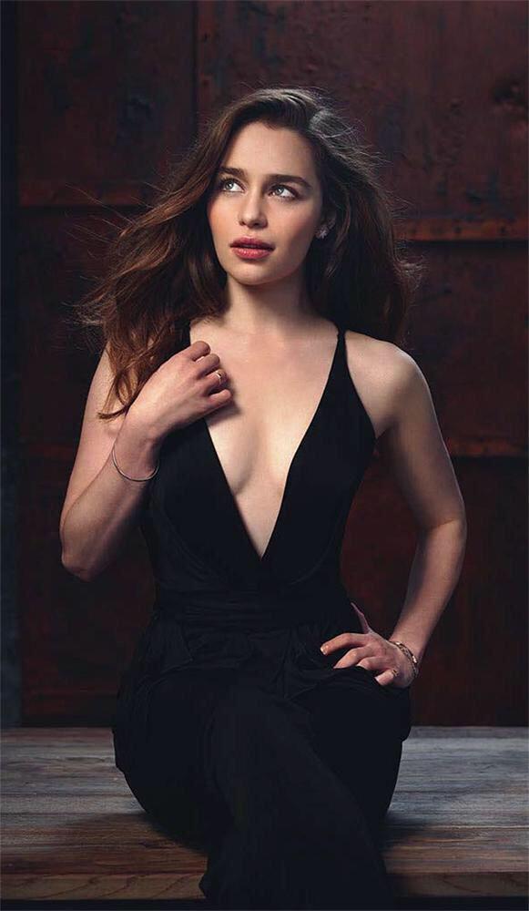 Emilia Clarke photo shoot for Genysis