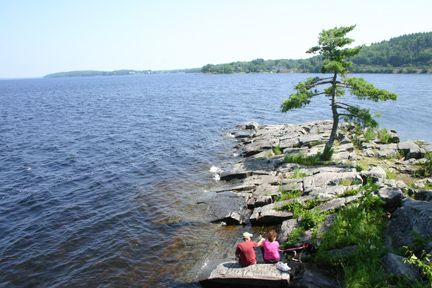 Laurie Park - lovely camping near Halifax