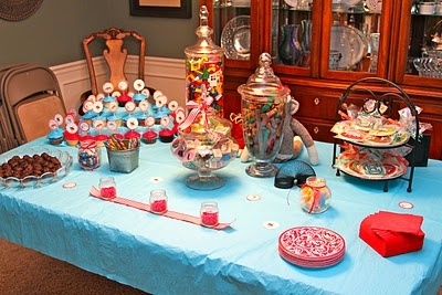 Vintage toy baby shower