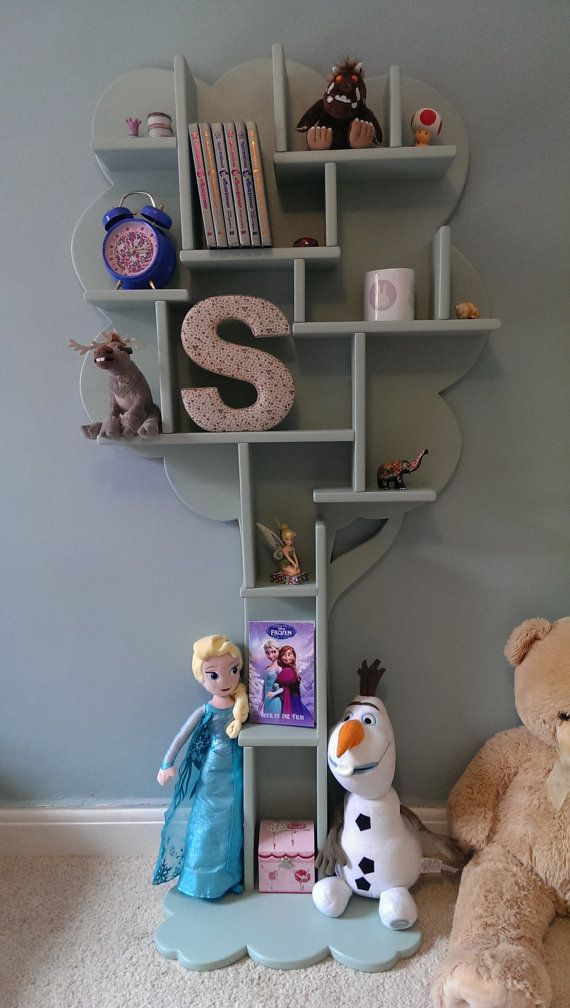 Tree Furniture. Childrens Stand Alone Shelving Unit Available In Any Colour. https://www.etsy.com/listing/200796720/kids-hand-made-tree-shelf-childrens