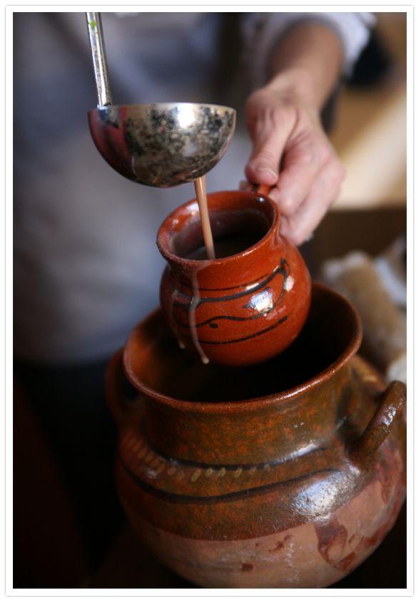 Champurrado is a very popular drink during Dia de los Muertos (Day of the Dead) and Las Posadas during Christmas season.