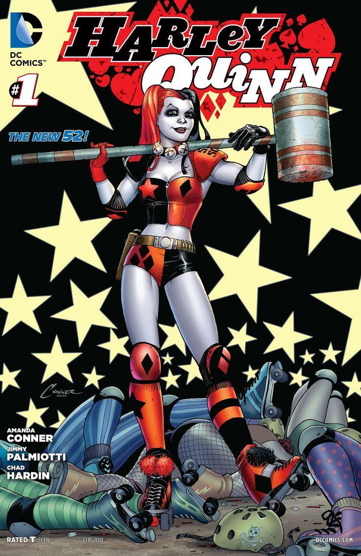 Harley Quinn joins roller derby  Harley #001