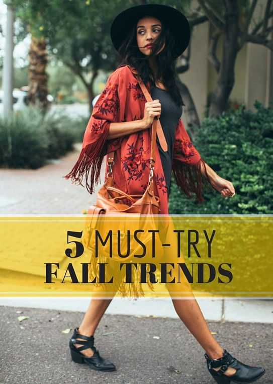 the top fall style trends for women to try now