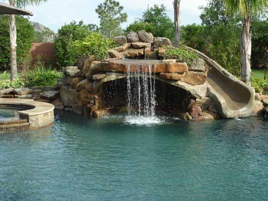 25 Best Ideas About Pool Water Features On Pinterest Pool Designs Backyard Lazy River And