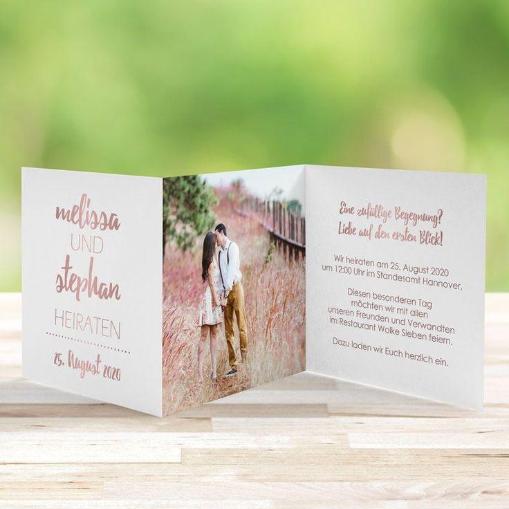 Einladungskarte Wedding Forever Love   – Einladungen | Hochzeit