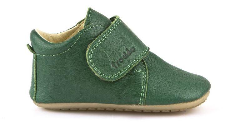 FRODDO barefoot topánky Prewalkers Green - FRODDO