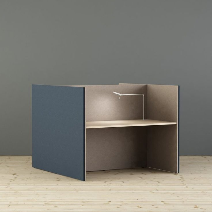 LimbusConcept workplace in C or H formation targets the need of temporary workplaces for individual focused work at the activity-based office. Scandinavian design.  Made in Sweden. Design Bartil Hagström, Johan Kauppi