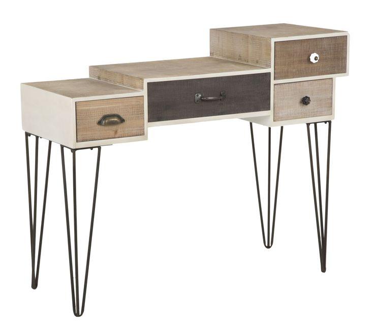 #MauroFerrettiSrl 1418260000 CONSOLE RAW CM 104X44X85 #mauroferrettisrl #home #homedecor #decor #casa #arredo #arredamento #console  #desk #metal #vintage #wood #industrial #iron #newitem #newlook #italiansdoitbetter