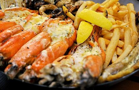 Seafood Platter @ The Codfather, Camps Bay
