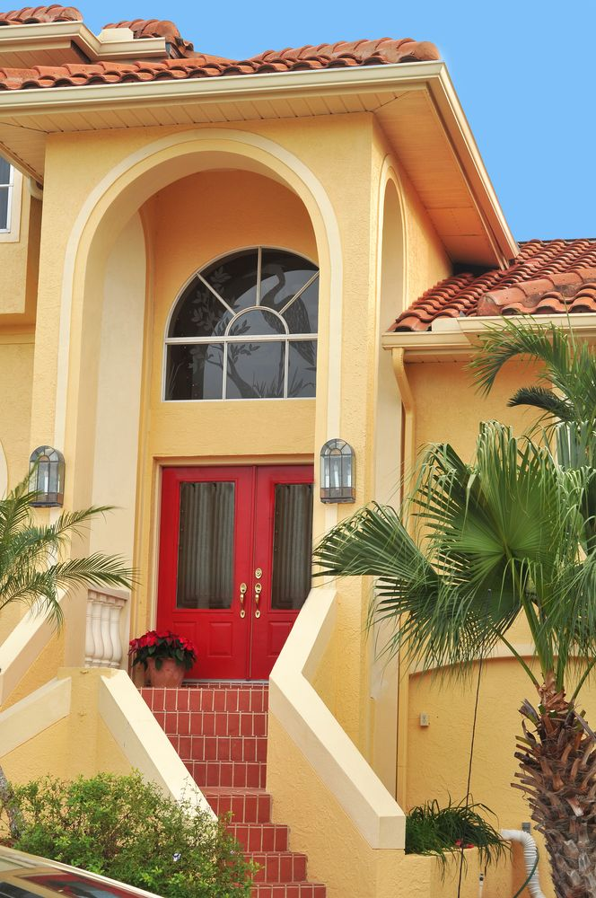 22 best images about philippine houses on pinterest the for Florida house paint colors