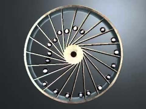 Computer Simulation of Overbalanced Wheel 1st