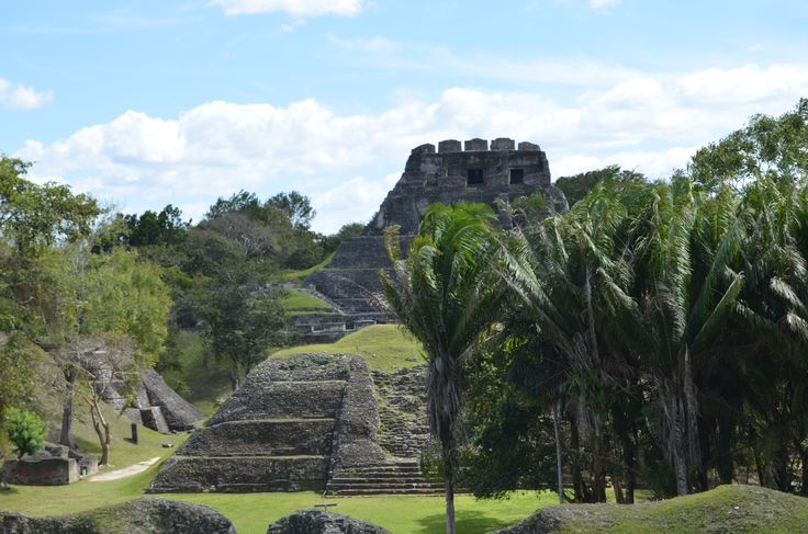 Xunantunich Mayan site near San Ignacio and Benque Viejo Del Carmen is one of the most interesting and attractive places to see in Belize