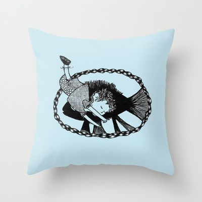 #nu #boniglio #pillow #bag #society6 #s6 #art #illustration