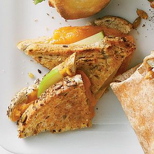 Grilled Cheese & Apple Sandwiches | MyRecipes.com