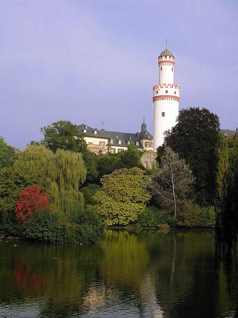 White Tower - Bad Homburg's landmark - Hessen -  Germany
