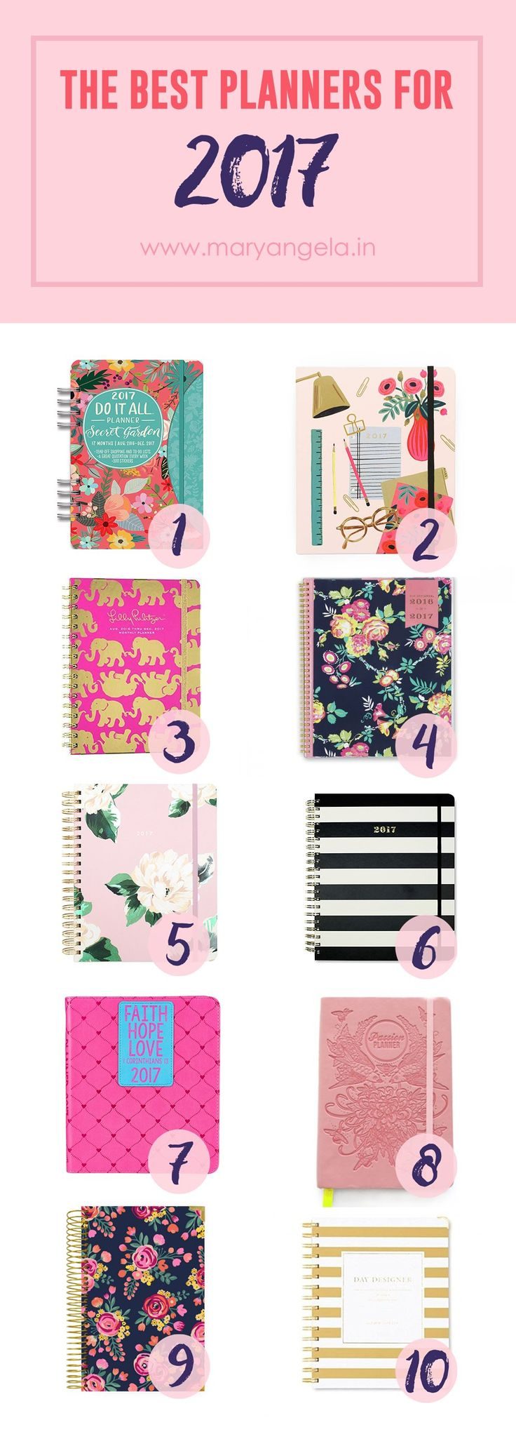 Best Planners for 2017