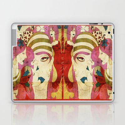 Heads Laptop & iPad Skin by Helena Hotzl - $25.00