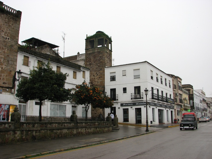Plaza Mayor de Alburquerque.