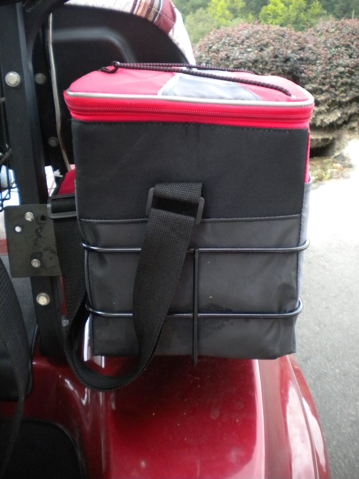 An important Yamaha golf cart accessory is a cooler bag - find one that fits your style.