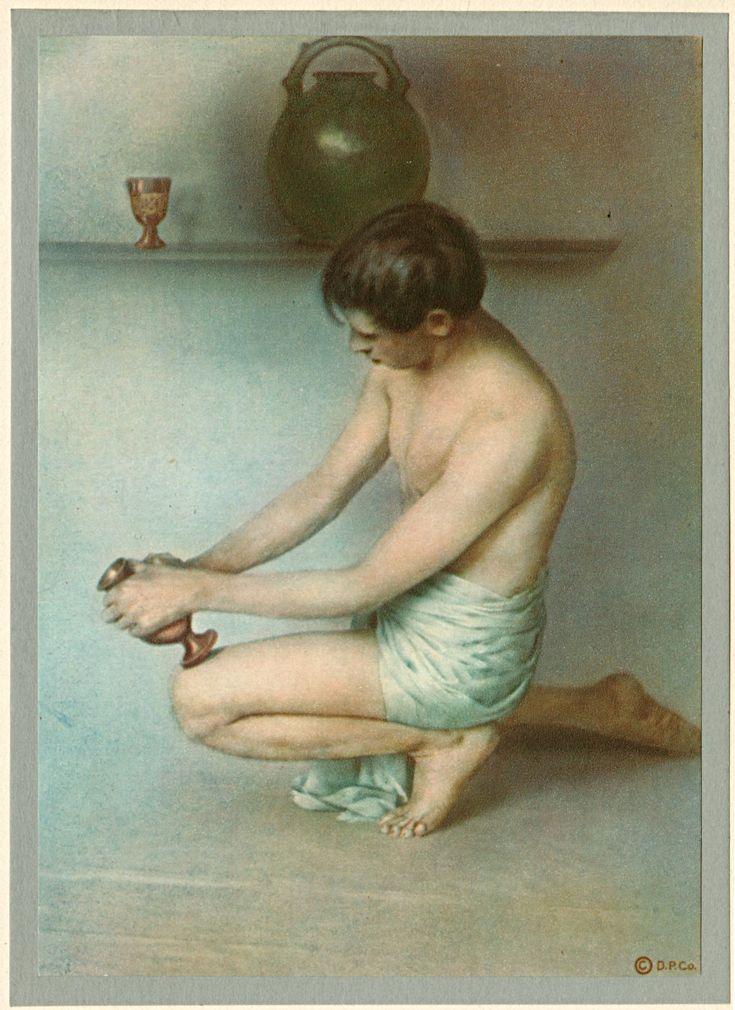 """""""Did the Hand then of the Potter shake"""" by Adelaide Hanscom (1875-1931)"""