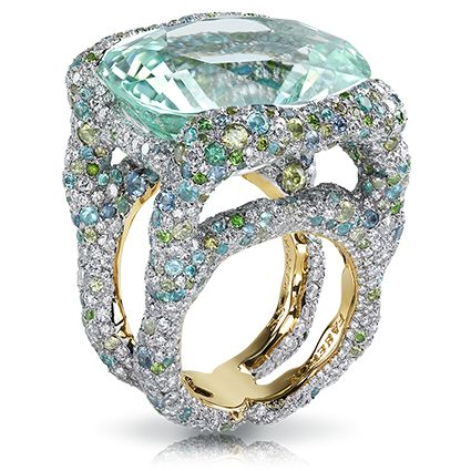 Katharina Mint Ring
