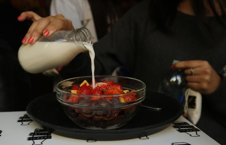 Hipster Cereal Cafe Hits a Nerve, Sparks Protests in London