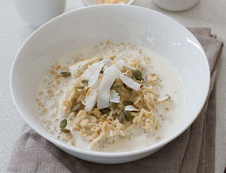 Start your day off right with this nutritious Super Simple Porridge #iquitsugar
