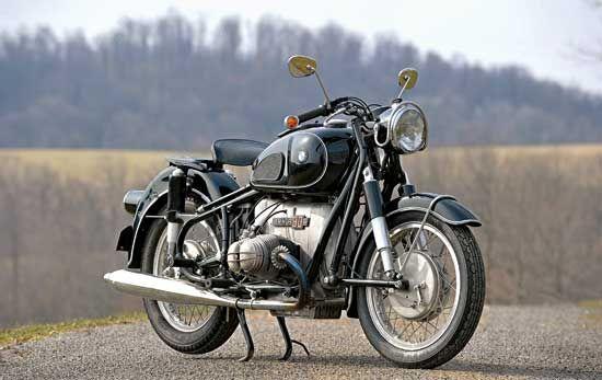BMW / 2 Hot Rod - Klassische deutsche Motorräder