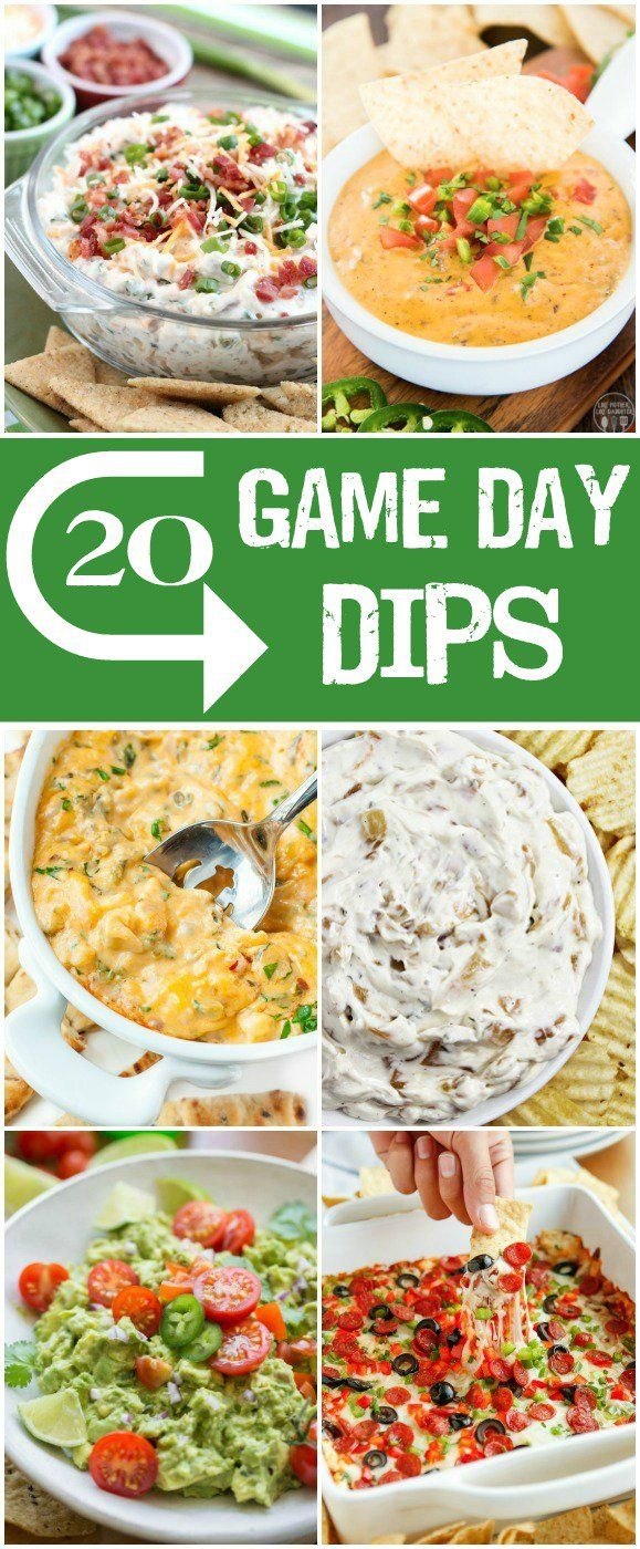 Whether you like to keep it traditional with a cheesy queso and fresh guacamole, or switch it up with a hot and cheesy caprese dip, these 20 game day dips will satisfy your taste buds.