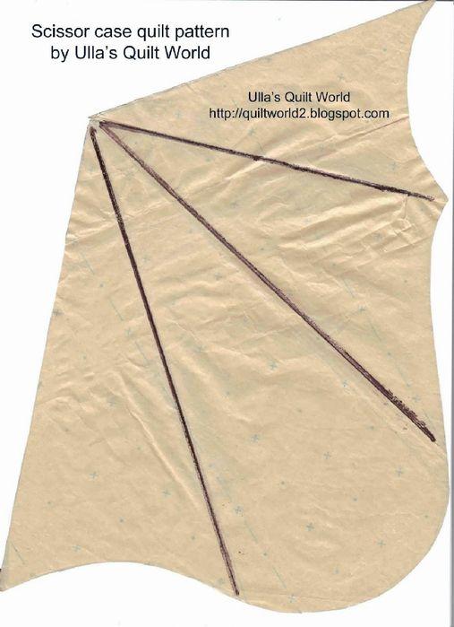 06 Scissor case quilt+pattern Ulla's Quilt World (507x700, 267Kb)