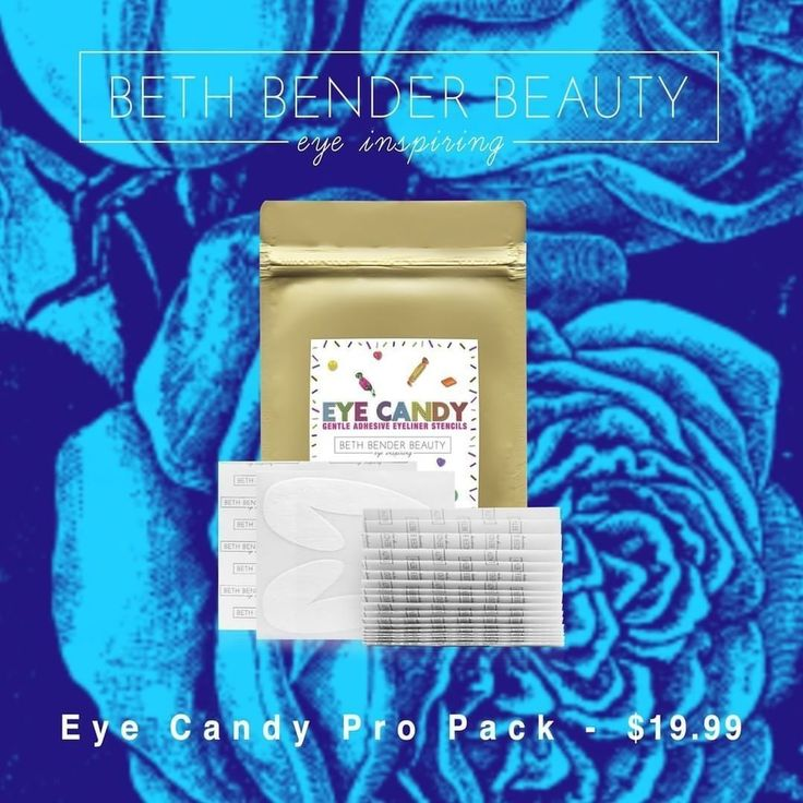You can have wings for dayz with our #EyeCandyStencils pro pack!  36 Sheets (72 Individual Eyeliner Stencils) & is just $19.99!