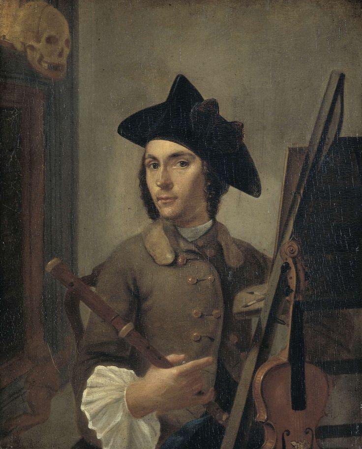 Self-Portrait, Gerrit Backhuijzen, 1745 - 1760