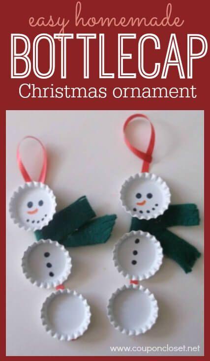 Easy Homemade Christmas Ornaments - Over 30 DIY Ornaments