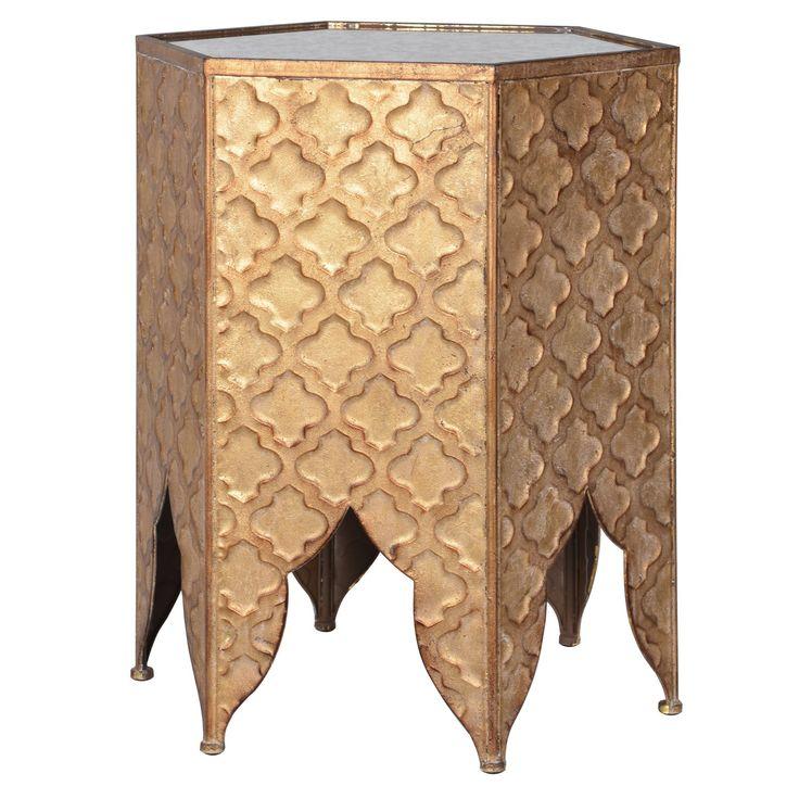 https://www.sweetpeaandwillow.com/living-room/side-tables/golden-hex-table