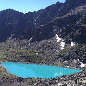 Einsames Wanderziel im Pitztal, der Mittelberglesee (2.450 m)