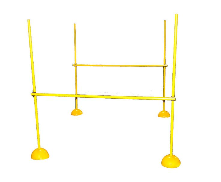Workoutz Agility Poles Hurdle Set Weave Lacrosse Speed Soccer Training Equipment | eBay