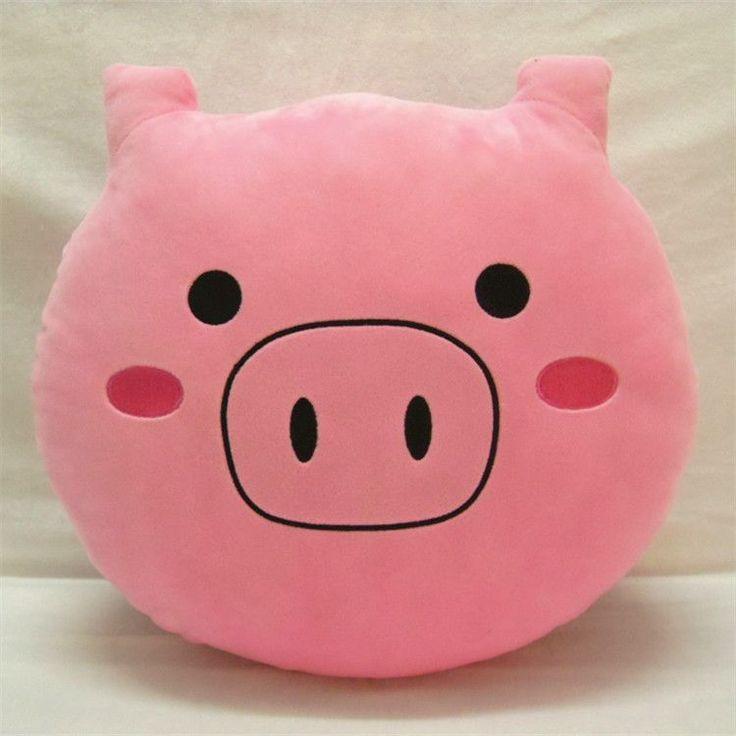 Emoji New Styles Soft Emoji Smile Emoticon White Cushion Stuffed Plush Toys Doll Gifts For girls Whatsapp Emoji Pillows